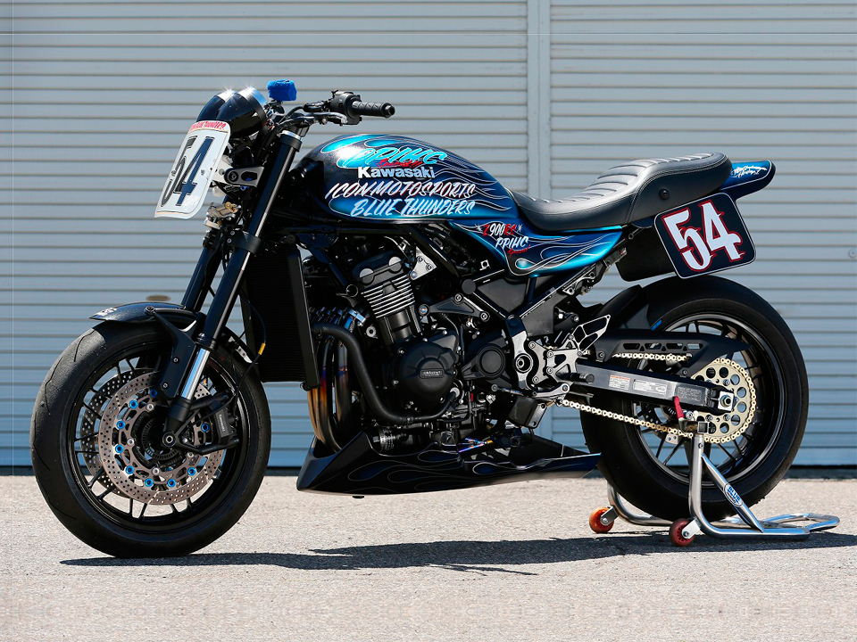 BLUE THUNDERS Z900RS 2018PPIHC エンジン